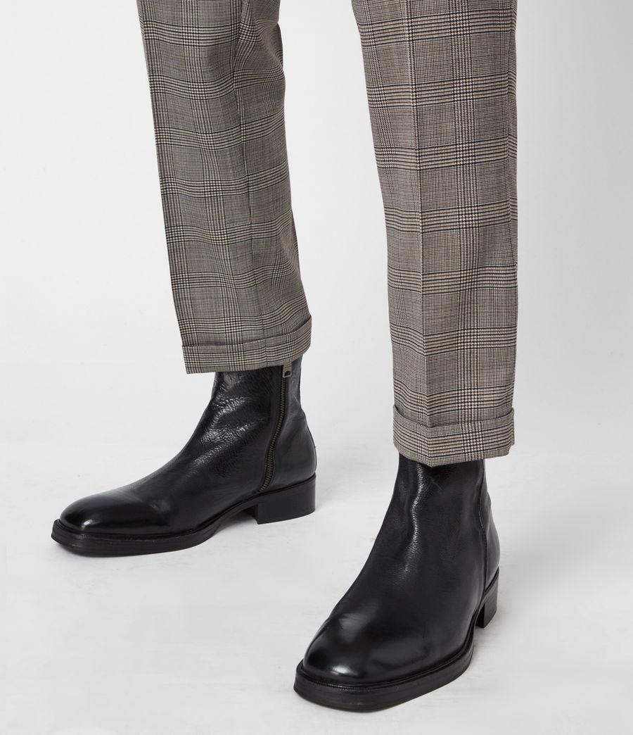 Men's Seth Leather Boots (black) - Image 8