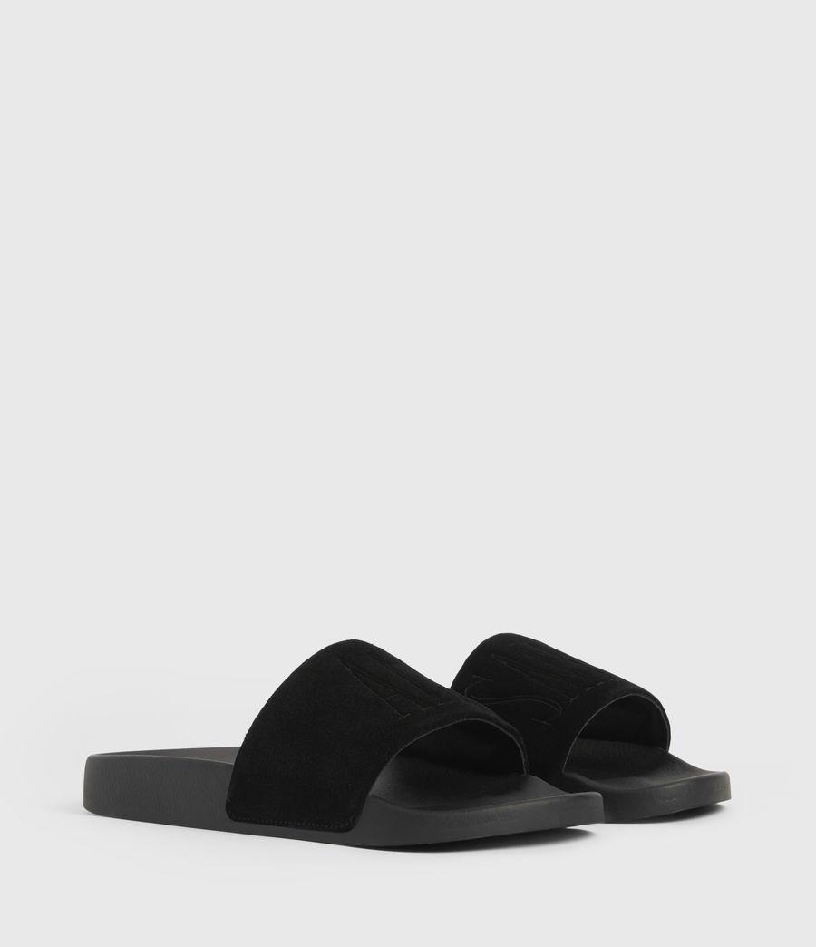 Uomo Sunland Suede Sliders (black) - Image 3