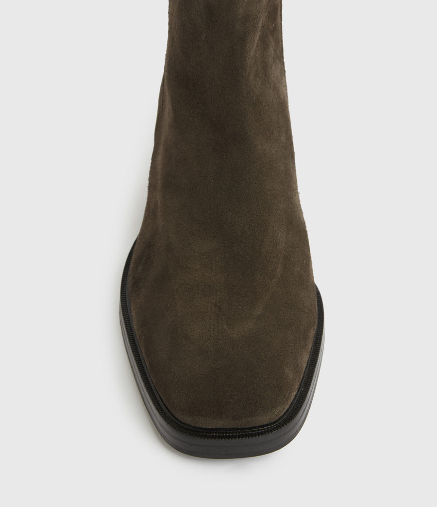 Men's Seth Suede Boots (bitter_chocolate) - Image 4