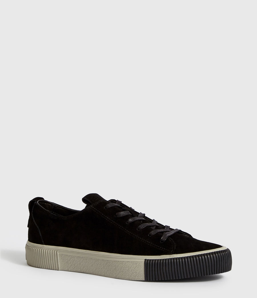 Uomo Sneakers Base - Basse in pelle (black) - Image 3