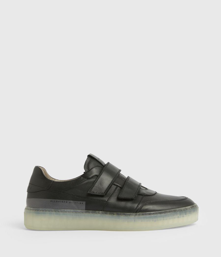 Hommes Baskets Velcro Jonah (black) - Image 1