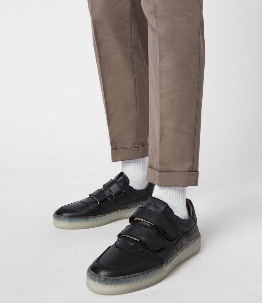 Hommes Baskets Velcro Jonah (black) - Image 2