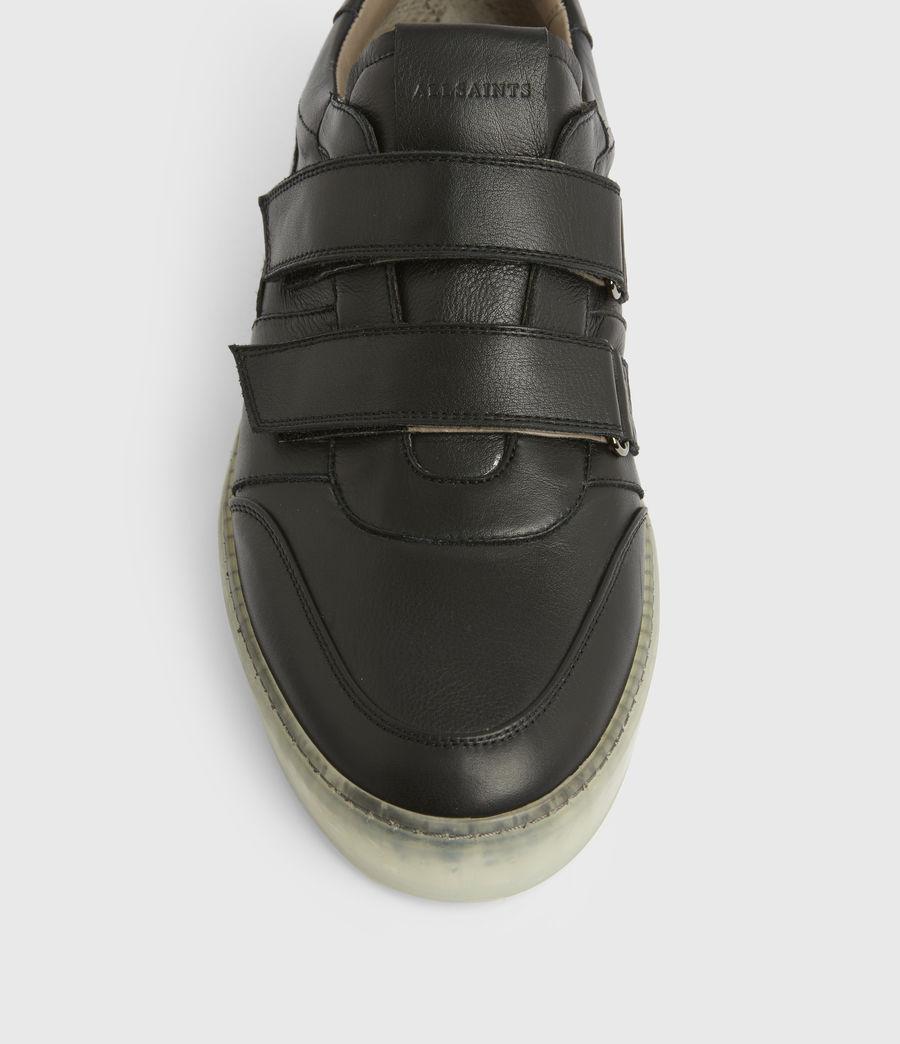 Hommes Baskets Velcro Jonah (black) - Image 3