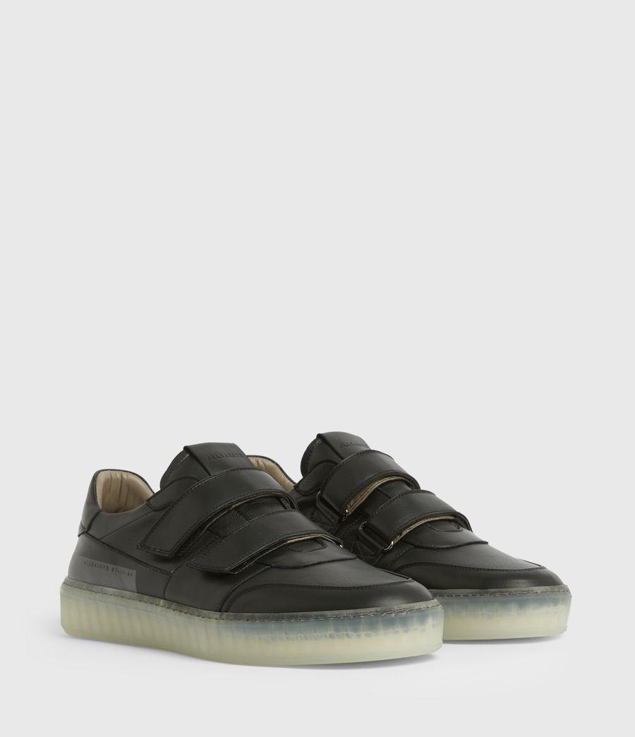 Hommes Baskets Velcro Jonah (black) - Image 4