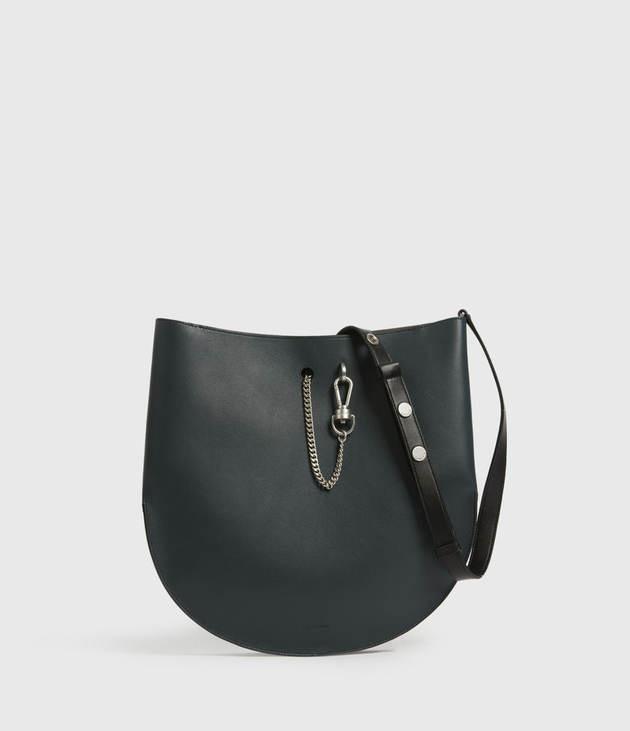 Womens Beaumont Leather Hobo Bag (dark_green) - Image 2