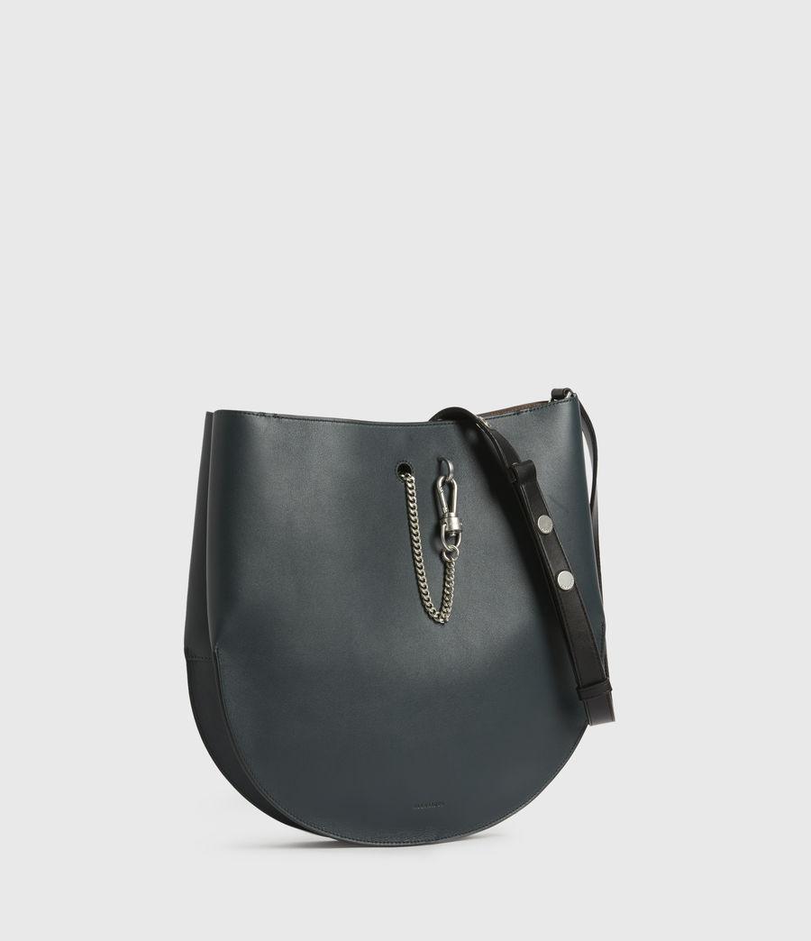 Womens Beaumont Leather Hobo Bag (dark_green) - Image 4