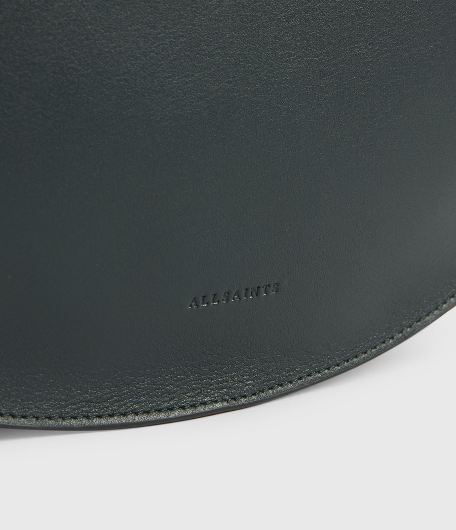 Womens Beaumont Leather Hobo Bag (dark_green) - Image 7