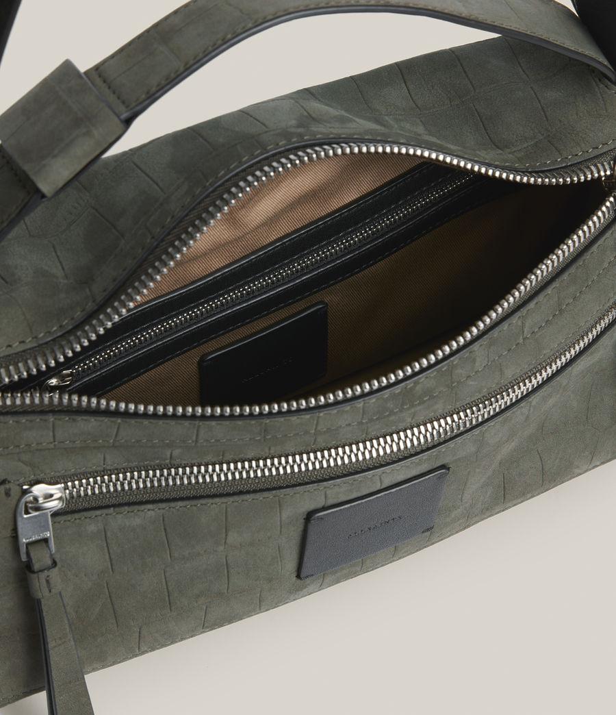 Women's Abrielle Leather Shoulder Bag (dusty_khaki) - Image 3