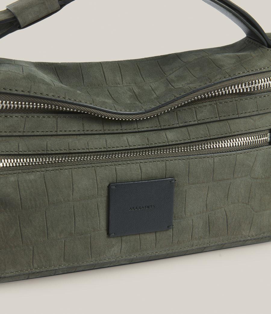 Women's Abrielle Leather Shoulder Bag (dusty_khaki) - Image 6