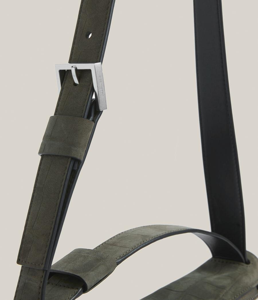 Women's Abrielle Leather Shoulder Bag (dusty_khaki) - Image 7