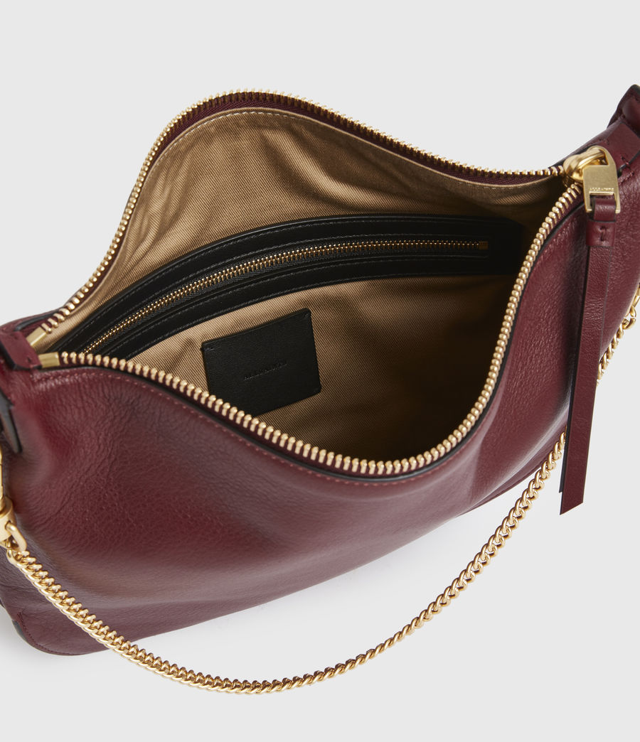 Womens Blake Leather Shoulder Bag (burnt_sienna_red) - Image 3