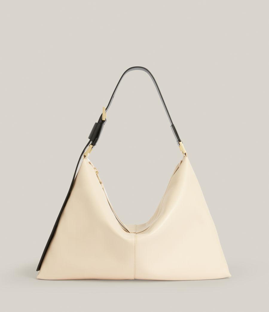 Femmes Edbury Leather Shoulder Bag (parchment_white) - Image 2