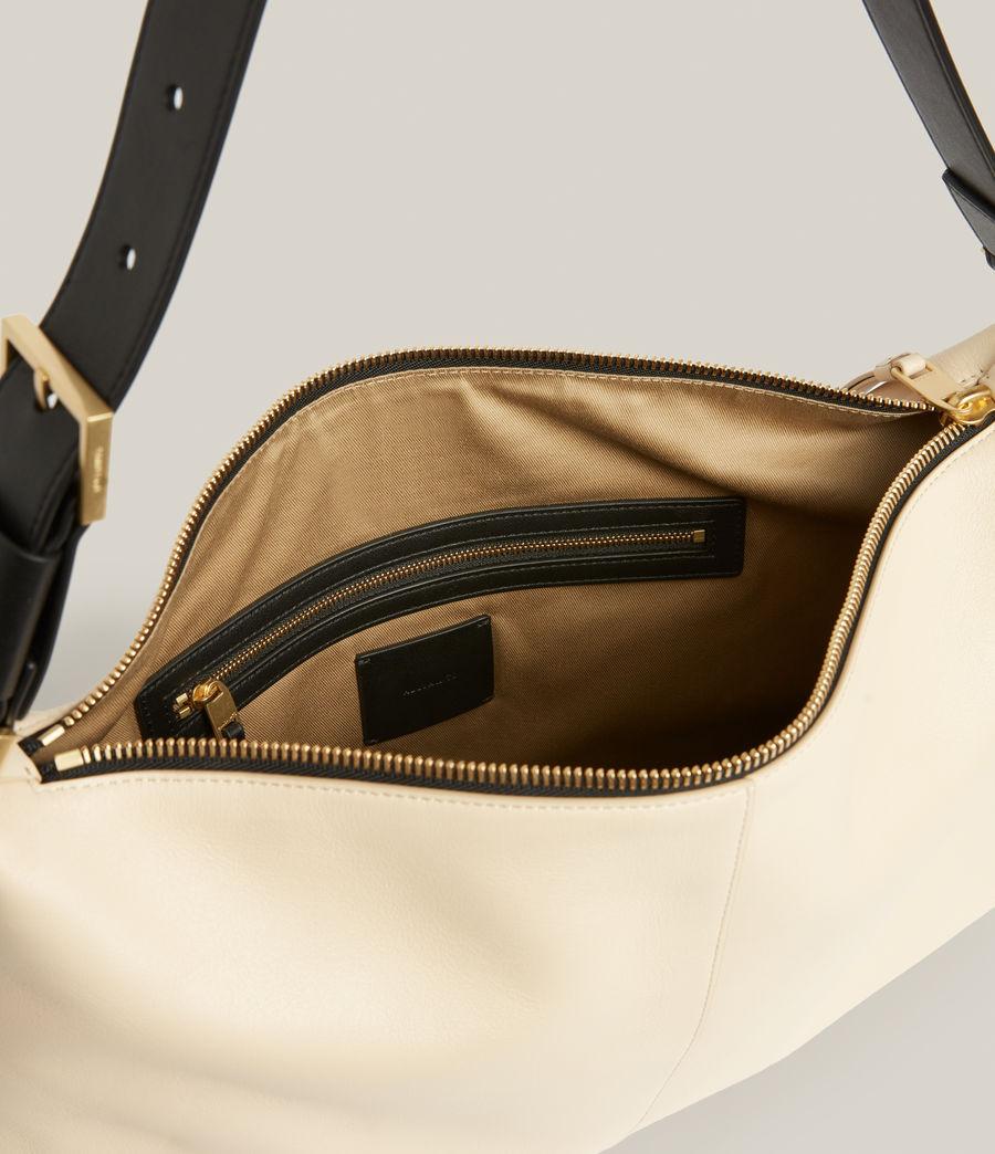 Femmes Edbury Leather Shoulder Bag (parchment_white) - Image 3