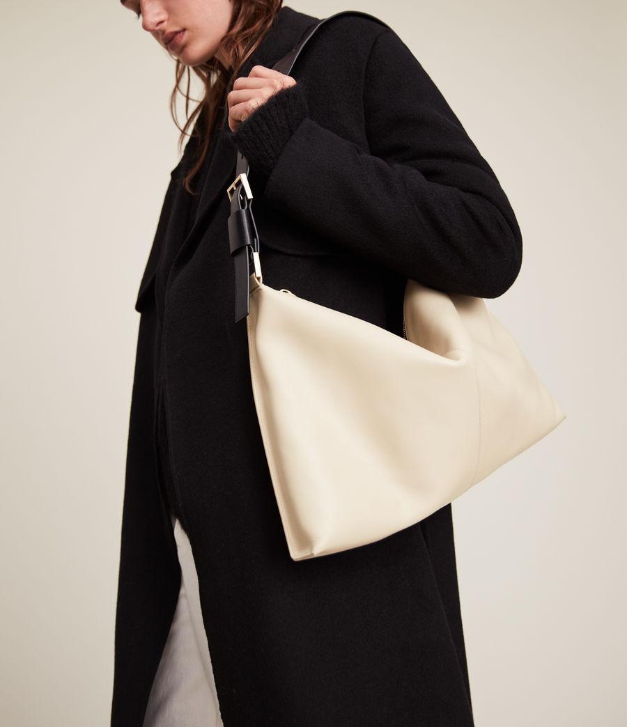 Femmes Edbury Leather Shoulder Bag (parchment_white) - Image 4