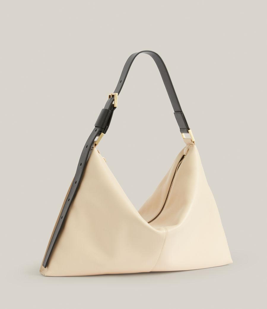 Femmes Edbury Leather Shoulder Bag (parchment_white) - Image 5