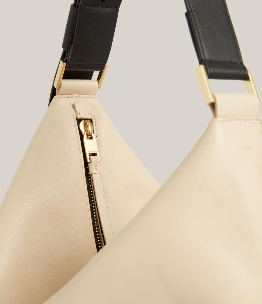 Femmes Edbury Leather Shoulder Bag (parchment_white) - Image 6
