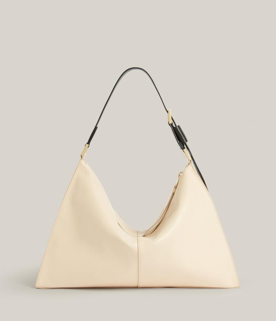 Femmes Edbury Leather Shoulder Bag (parchment_white) - Image 8