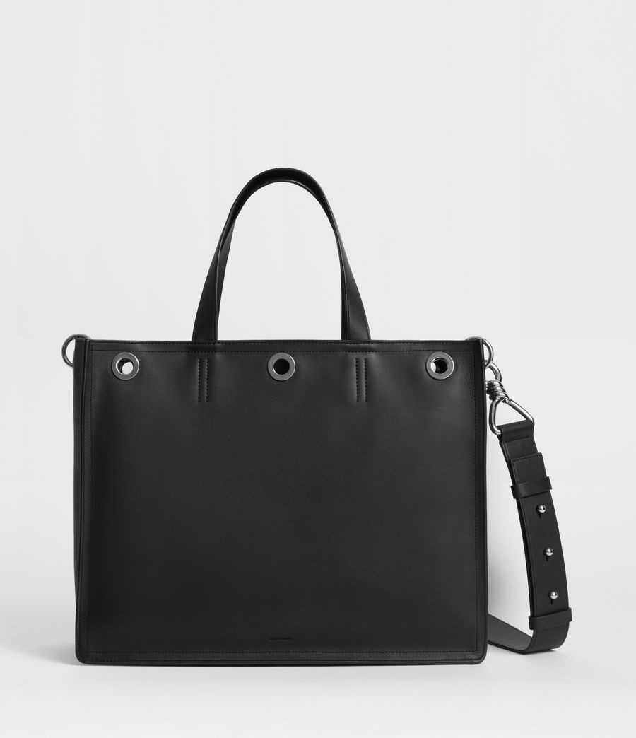 Womens Captain East West Tote Bag (black) - Image 1