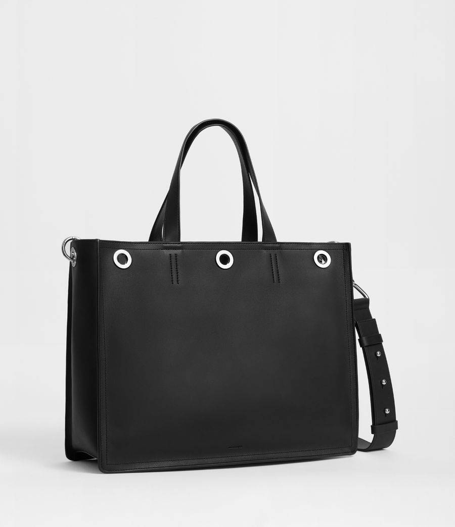 Womens Captain East West Tote Bag (black) - Image 2