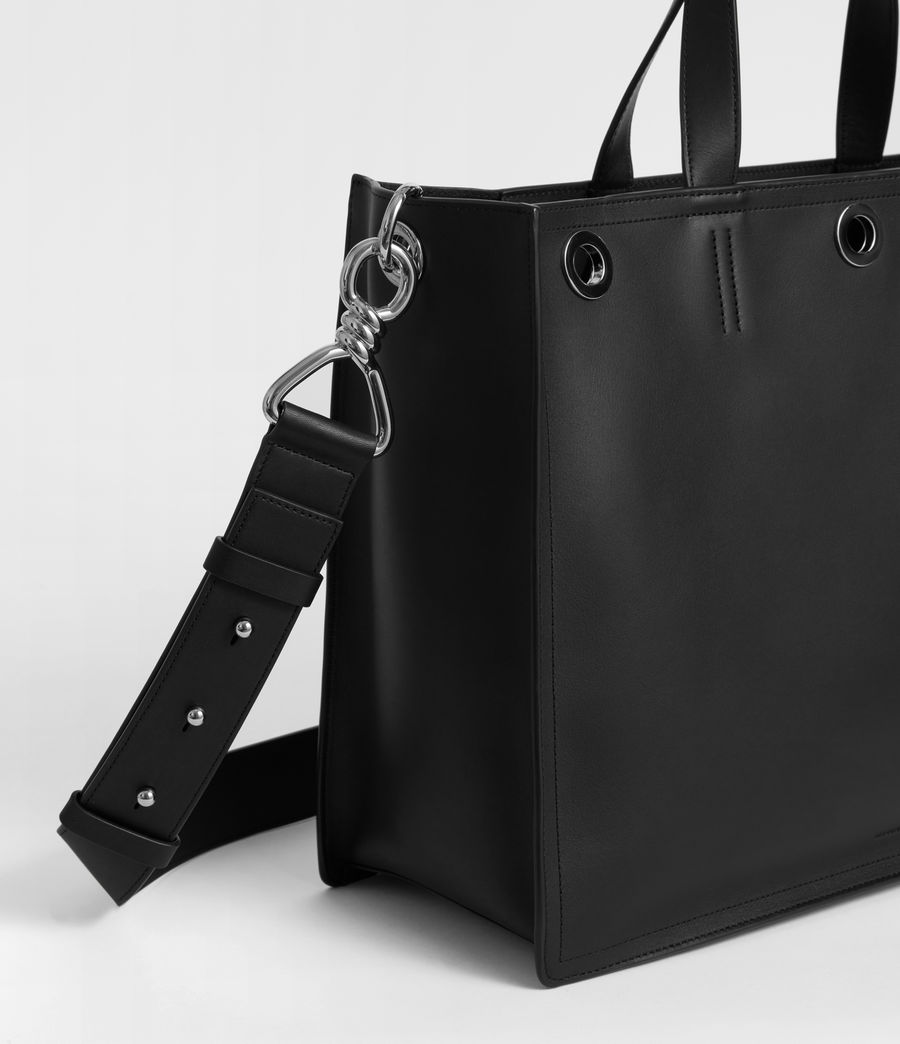Womens Captain East West Tote Bag (black) - Image 4