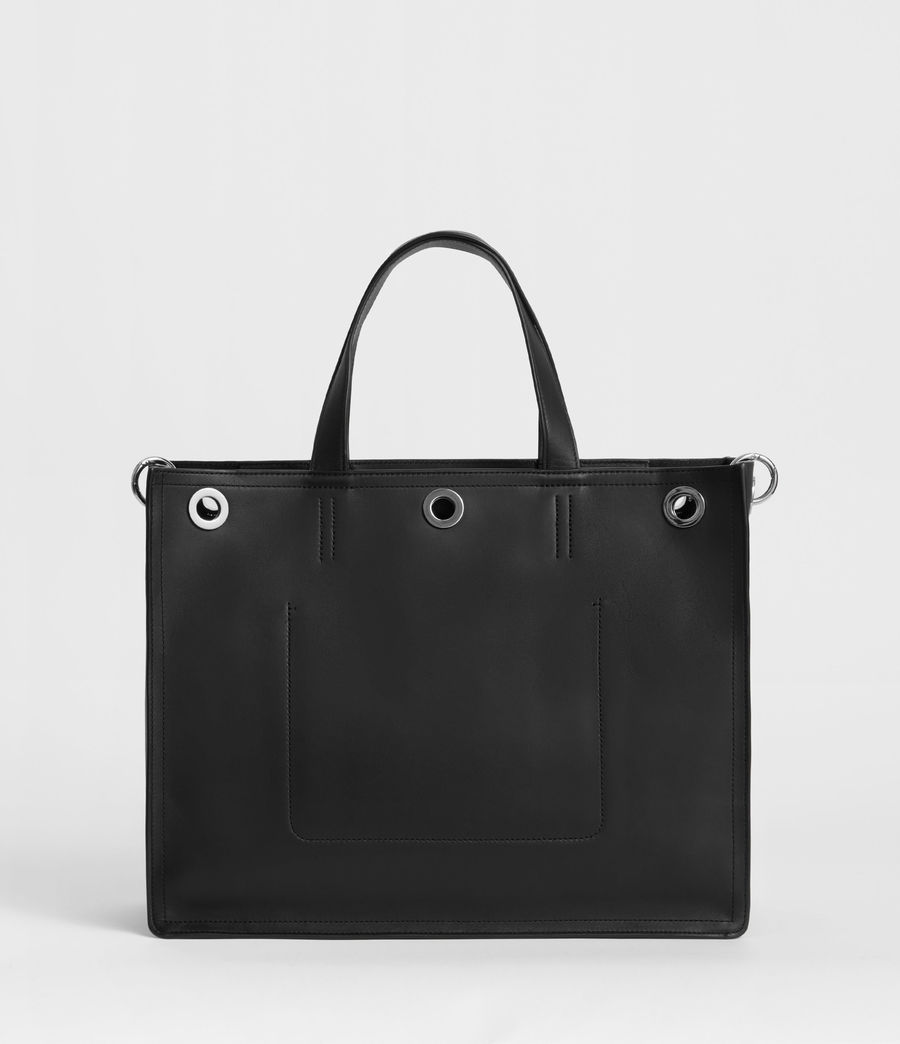 Womens Captain East West Tote Bag (black) - Image 5