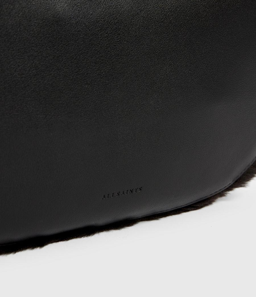 Womens Blake Pony Leather Shoulder Bag (peat_brown) - Image 5