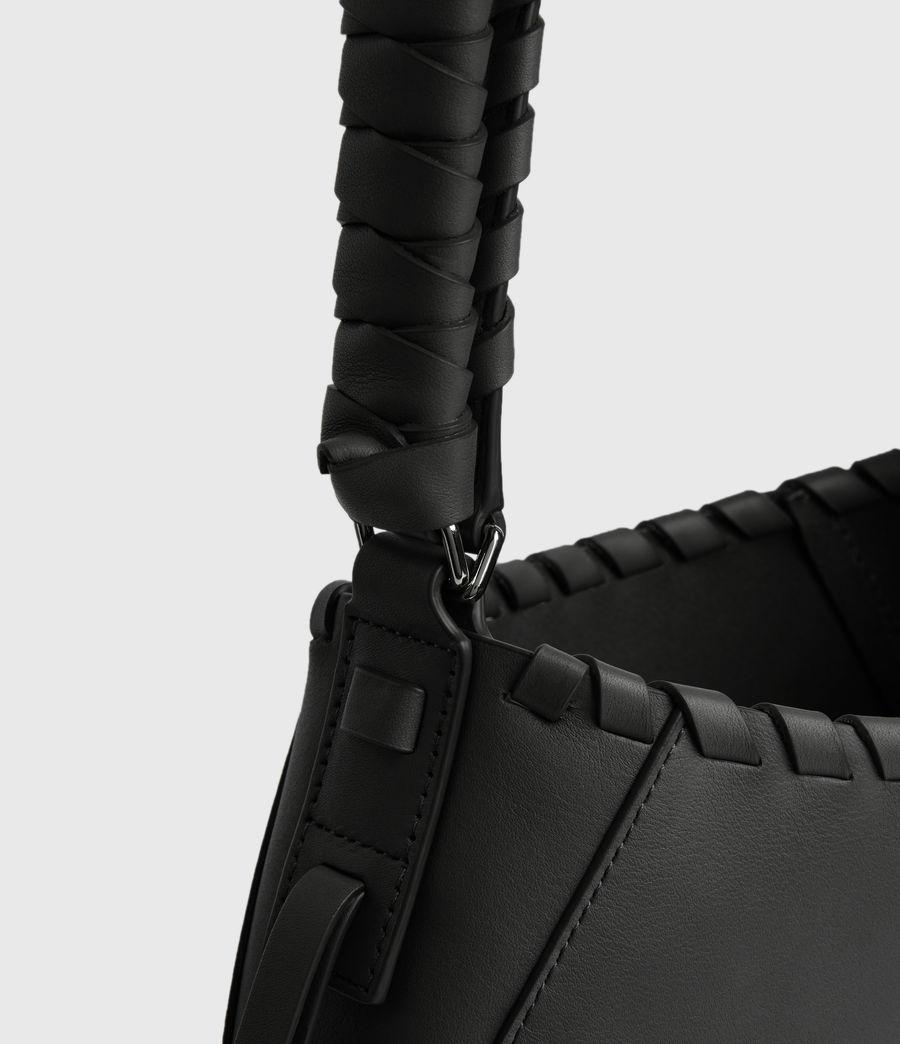 Women's Adina Small Hobo Bag (black) - Image 4