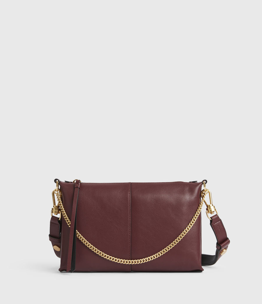 Womens Eve Leather Crossbody Bag (burnt_sienna_red) - Image 2