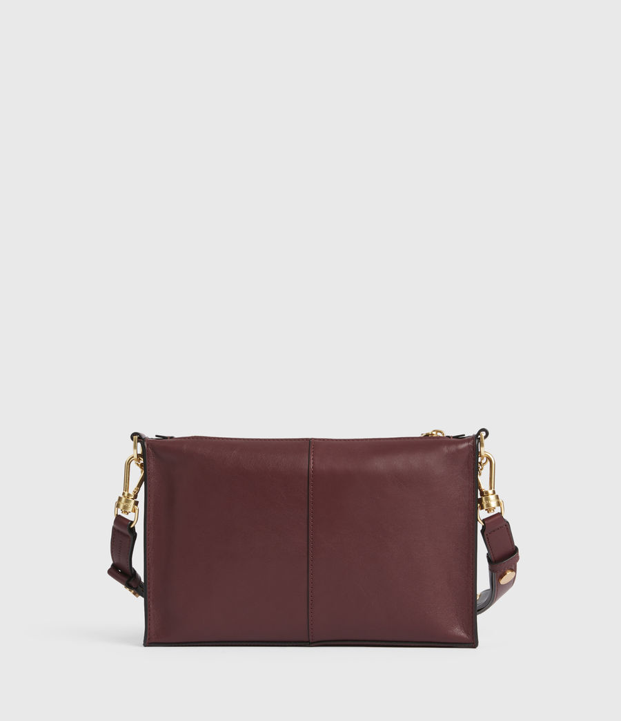 Women's Eve Leather Crossbody Bag (burnt_sienna_red) - Image 7