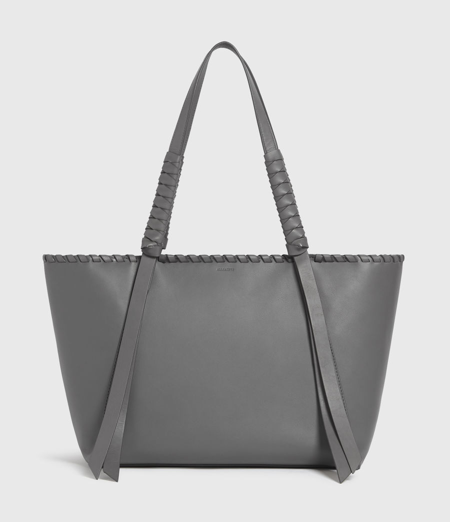 Donne Holston Small East West Tote Bag (graphite_grey) - Image 1