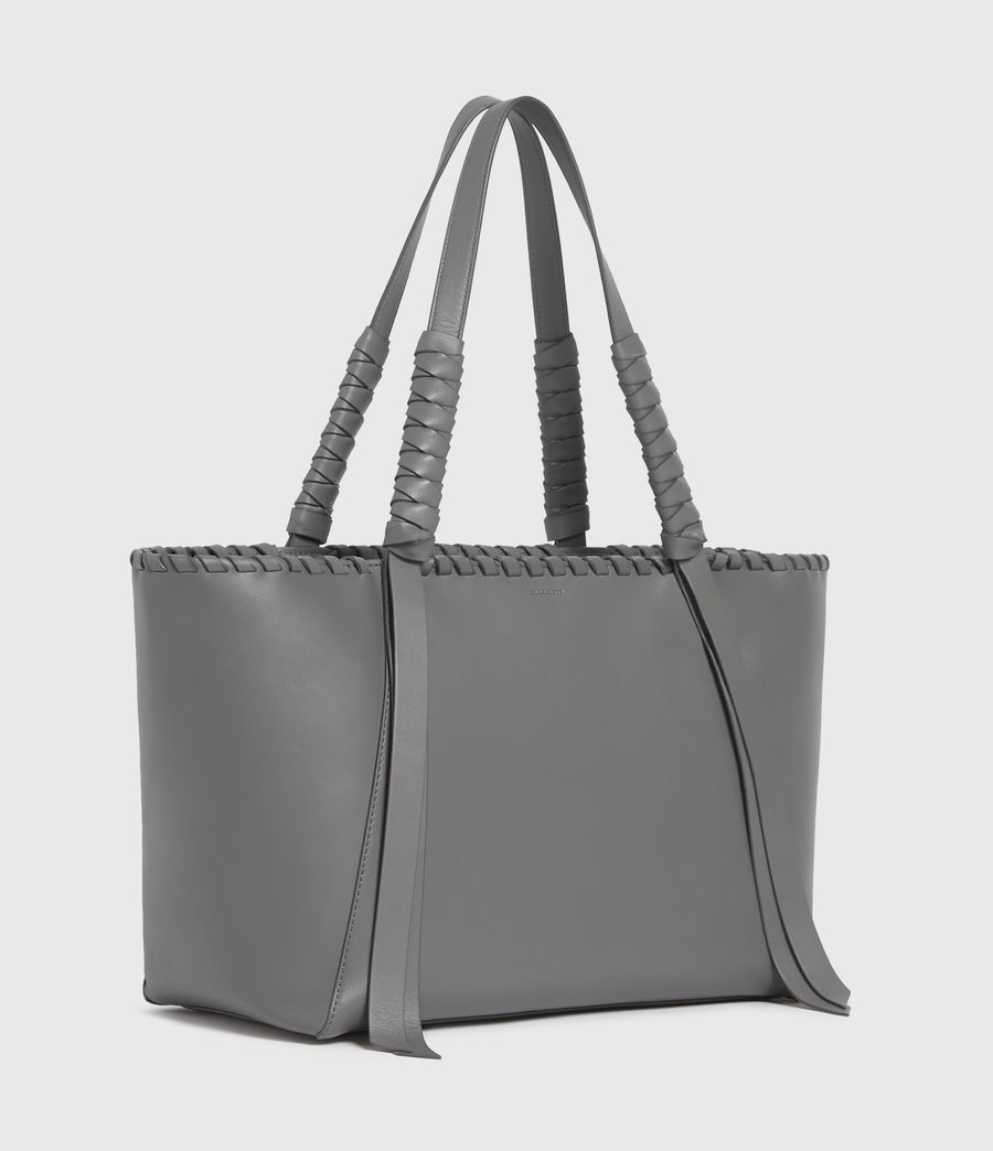 Donne Holston Small East West Tote Bag (graphite_grey) - Image 3
