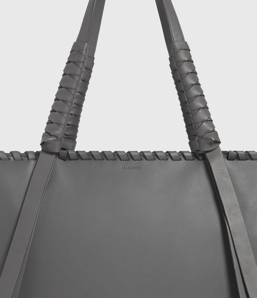 Donne Holston Small East West Tote Bag (graphite_grey) - Image 5