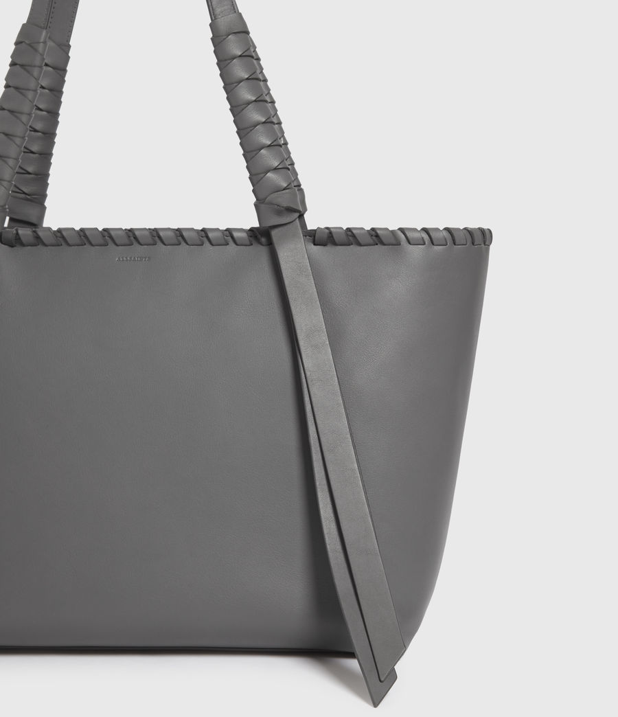 Donne Holston Small East West Tote Bag (graphite_grey) - Image 6