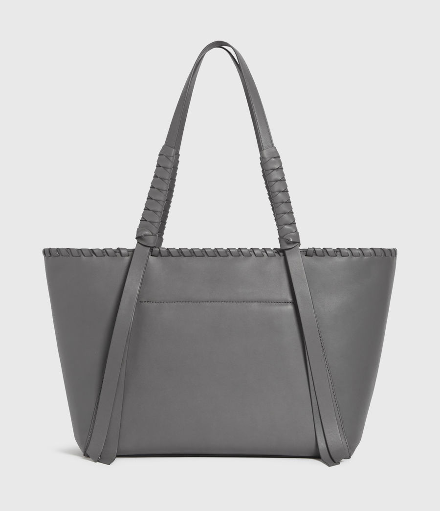 Donne Holston Small East West Tote Bag (graphite_grey) - Image 7