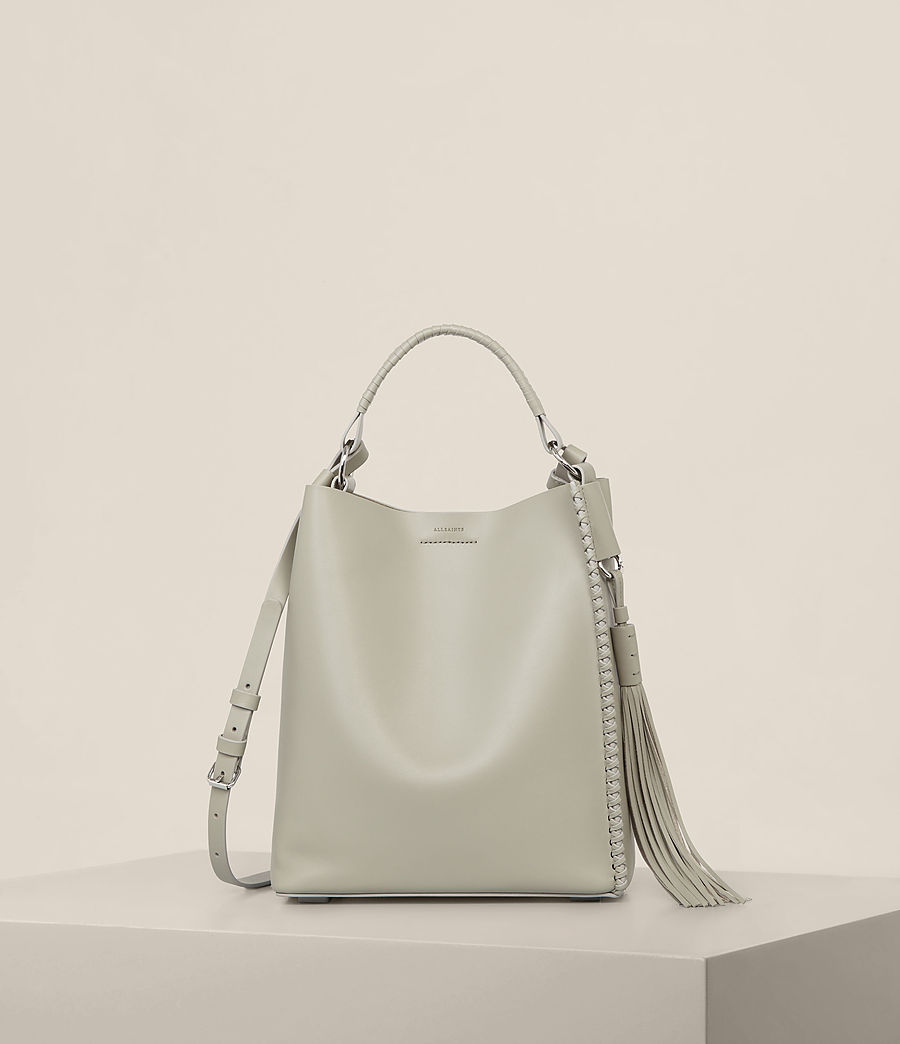 Womens Pearl Mini Hobo Bag (light_cement_grey) - Image 1