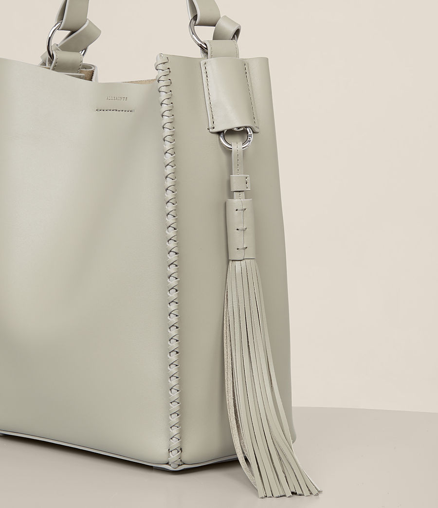 Womens Pearl Mini Hobo Bag (light_cement_grey) - Image 3