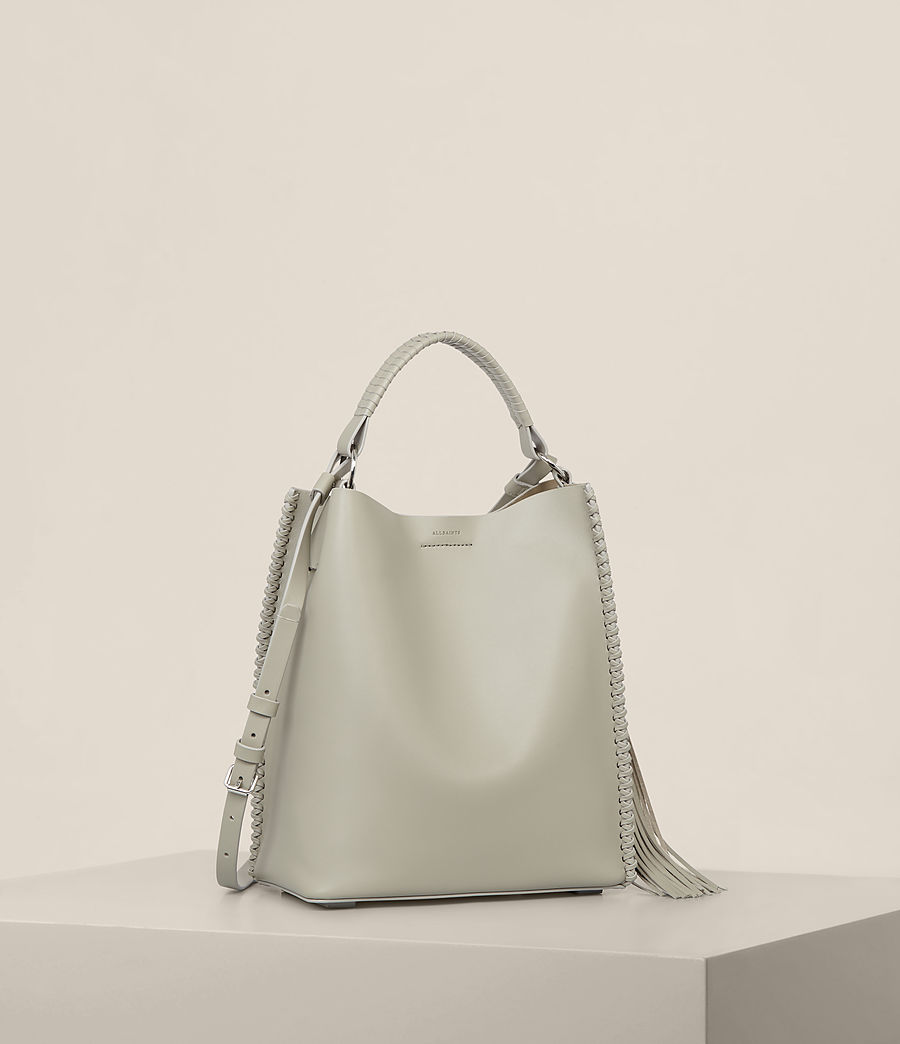 Womens Pearl Mini Hobo Bag (light_cement_grey) - Image 5