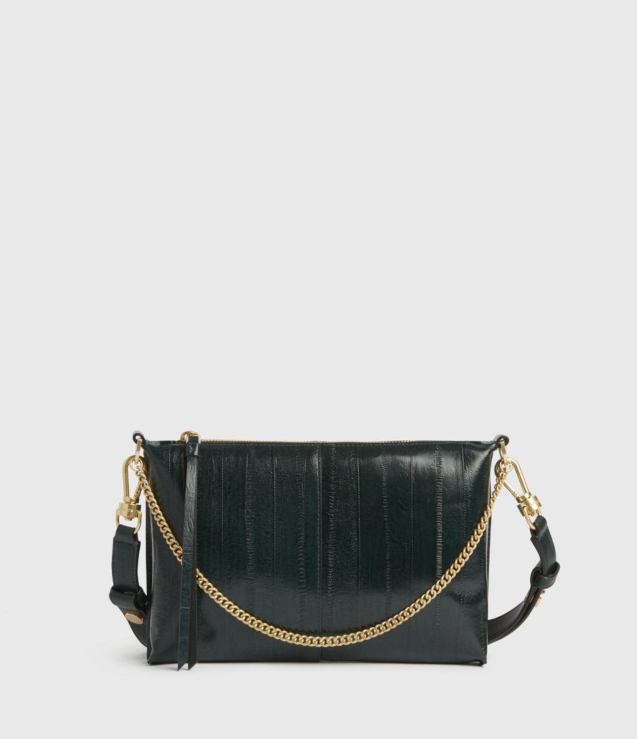 Womens Eve Leather Crossbody Bag (dark_green) - Image 1