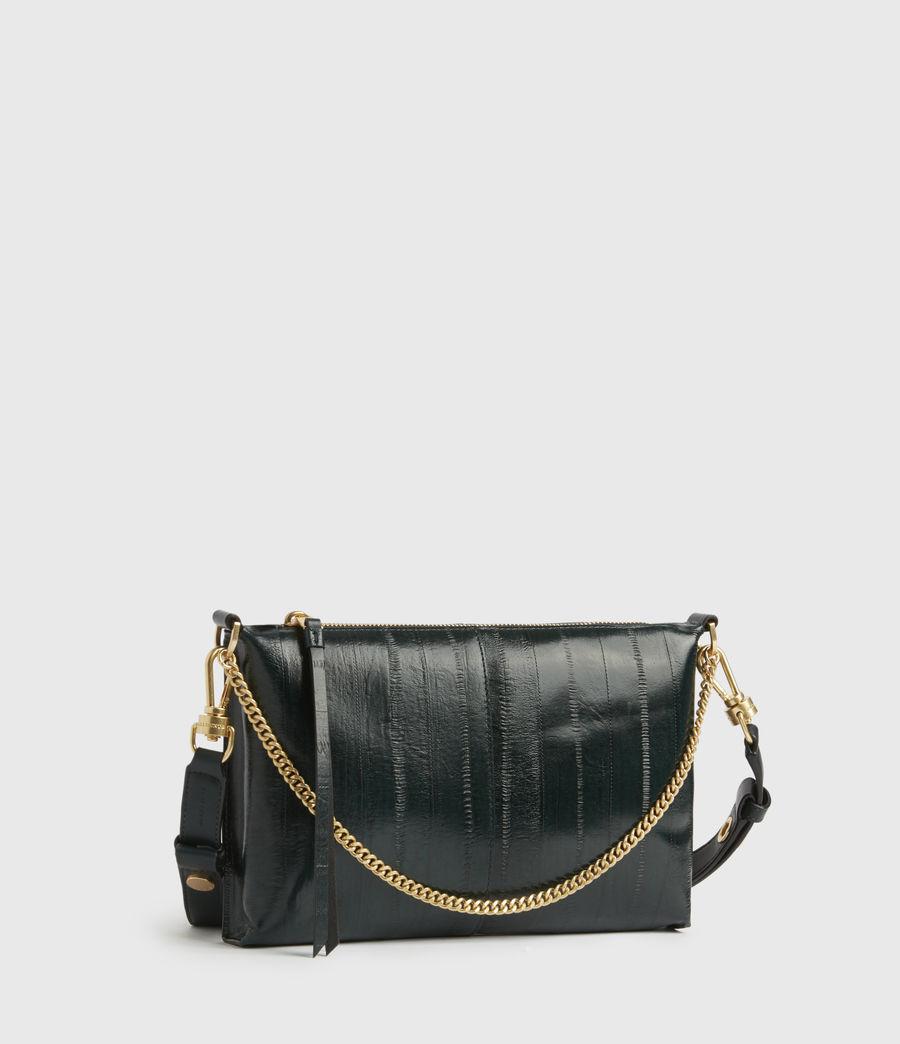 Womens Eve Leather Crossbody Bag (dark_green) - Image 2