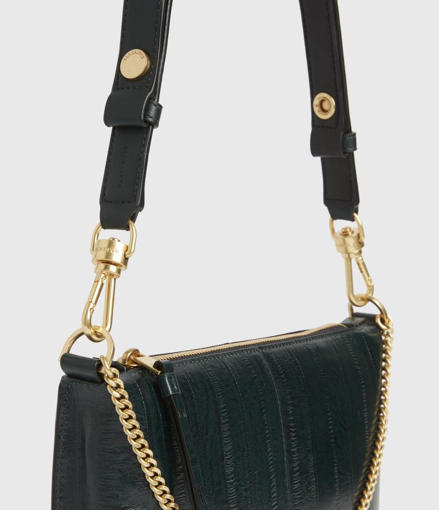 Womens Eve Leather Crossbody Bag (dark_green) - Image 3