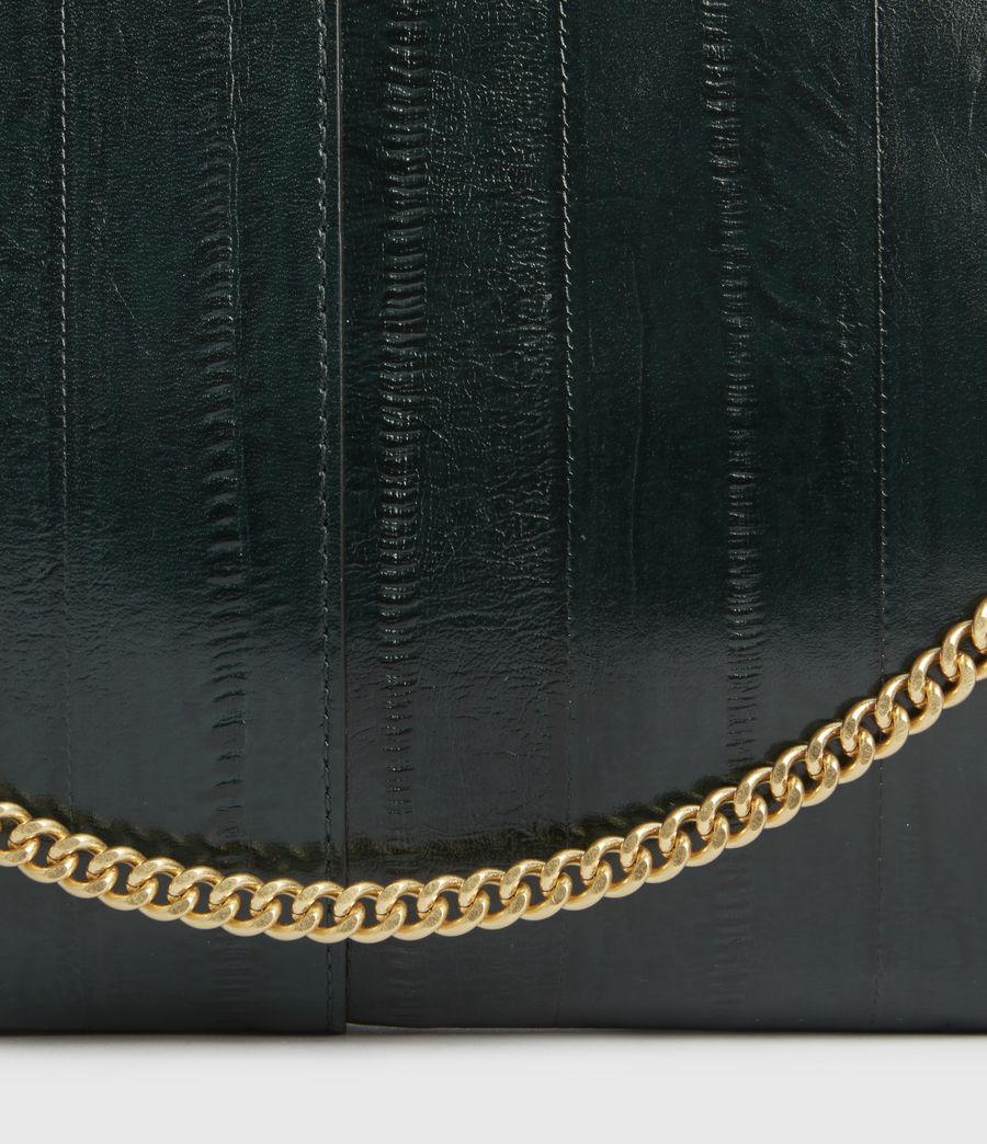 Womens Eve Leather Crossbody Bag (dark_green) - Image 4