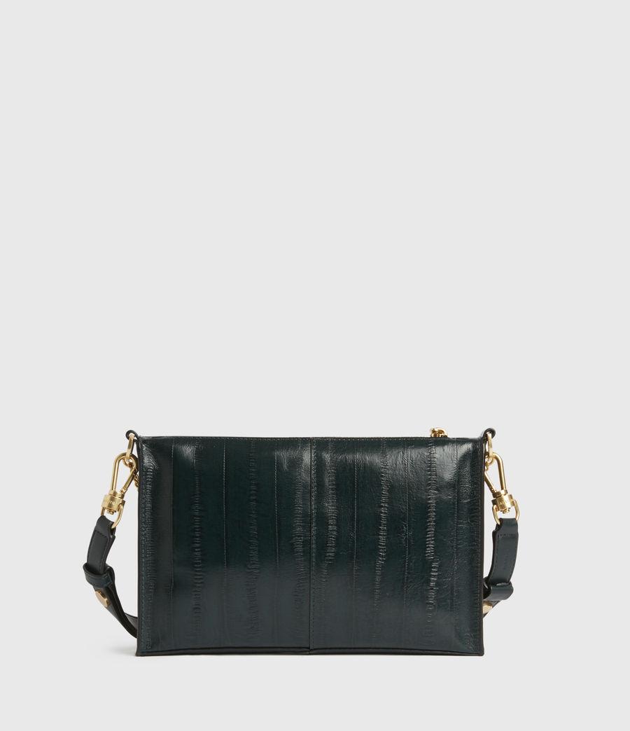Womens Eve Leather Crossbody Bag (dark_green) - Image 5