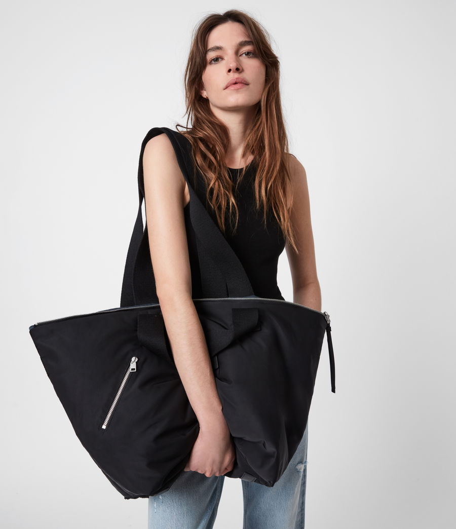 Womens Sly Reversible East West Tote Bag (squid_ink_blue) - Image 4