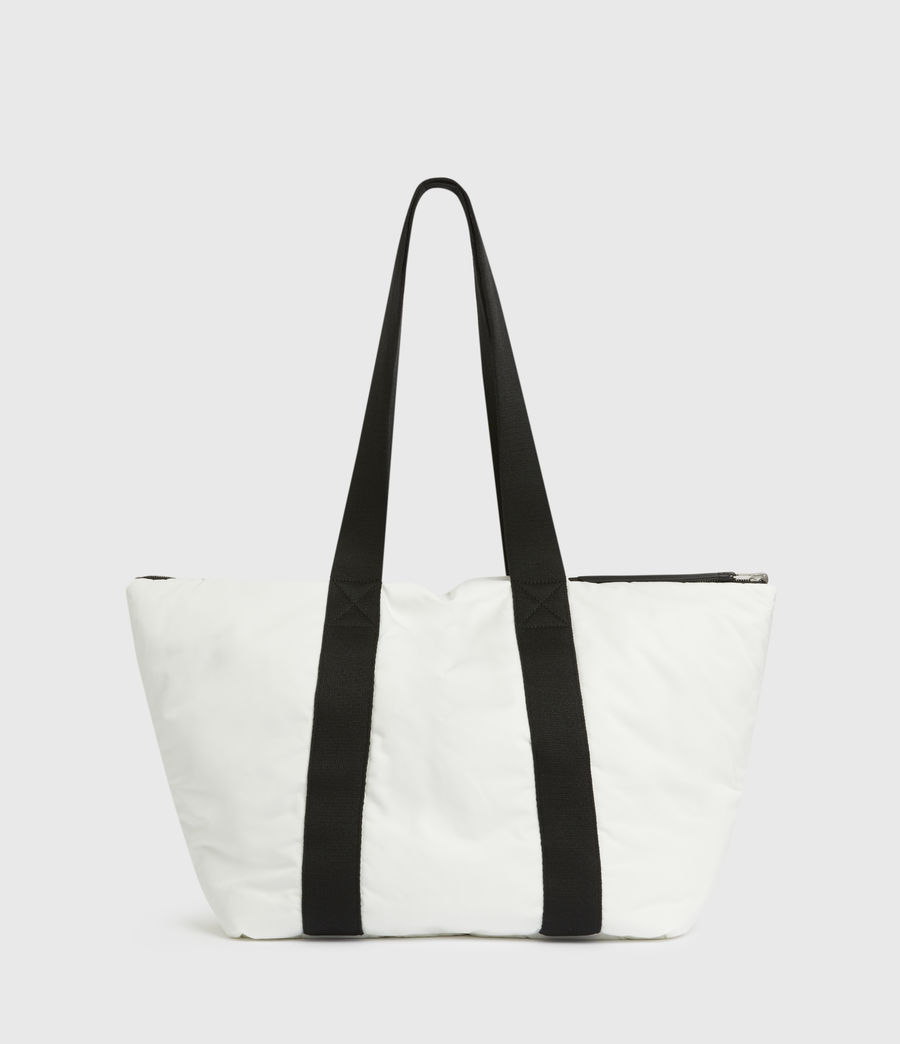 Womens Sly Reversible East West Tote Bag (roe_white) - Image 6