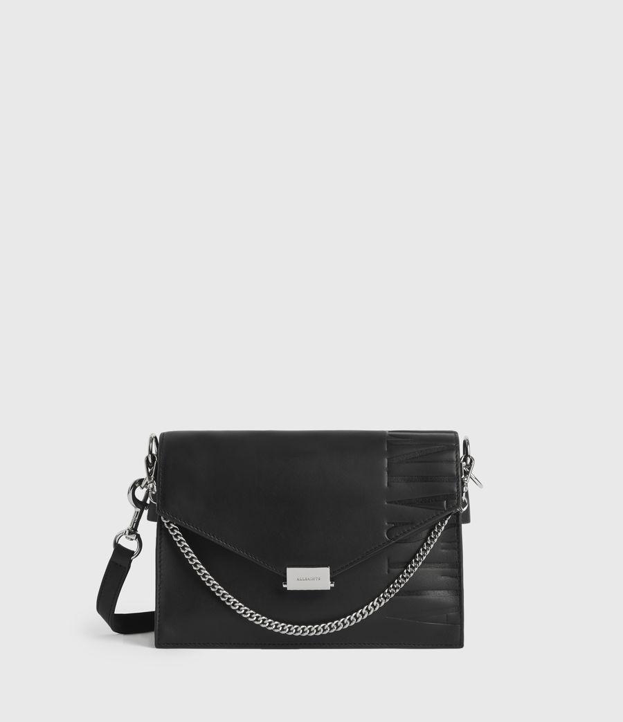 Mujer Albion Leather Shoulder Bag (black) - Image 1
