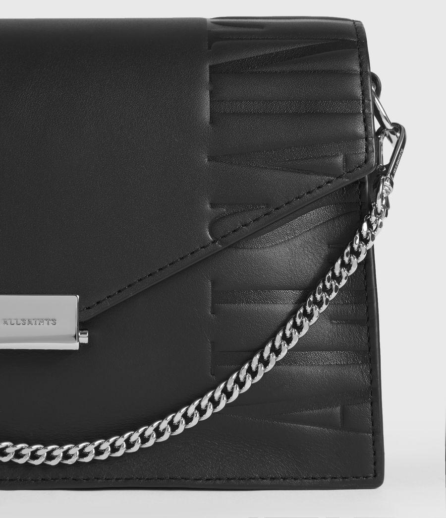Mujer Albion Leather Shoulder Bag (black) - Image 4