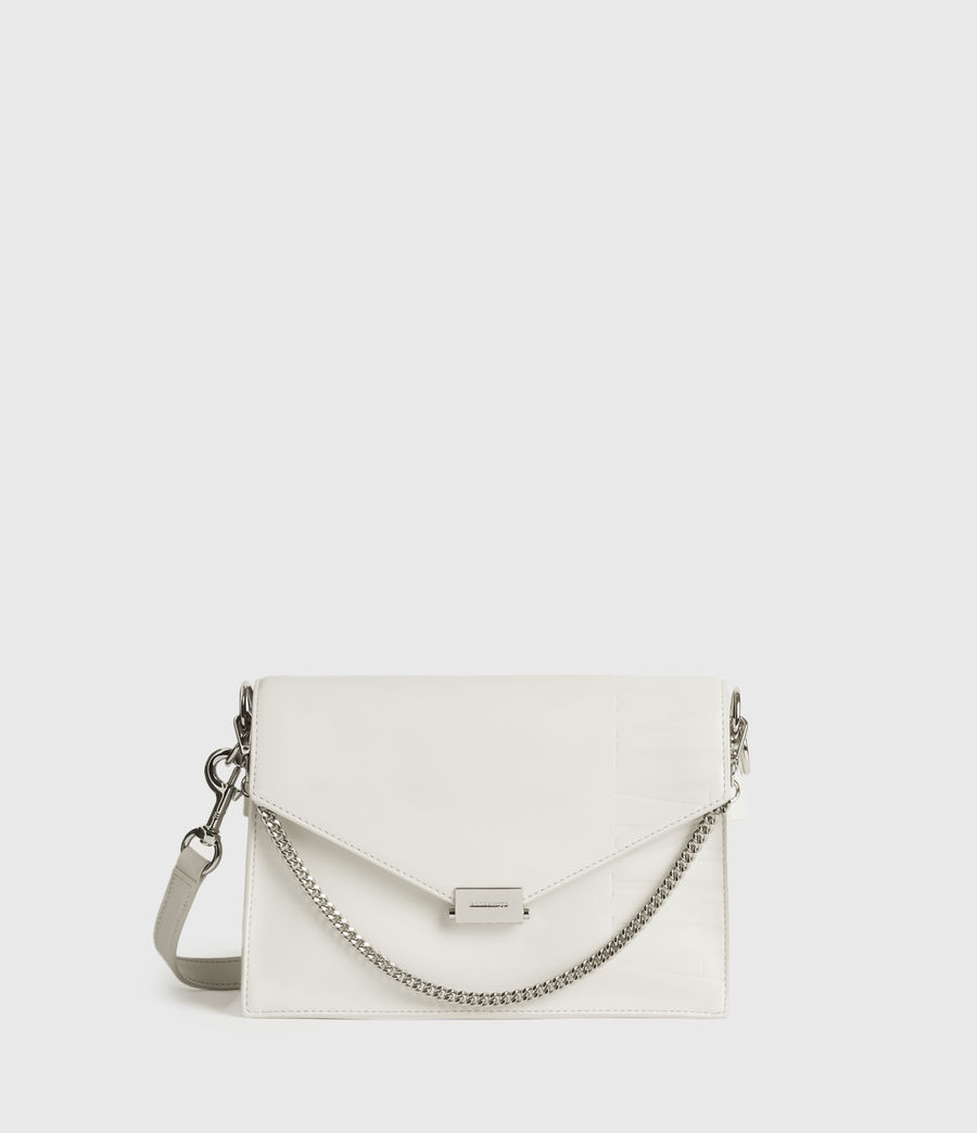 Women's Redchurch Leather Shoulder Bag (chalk_white) - Image 1