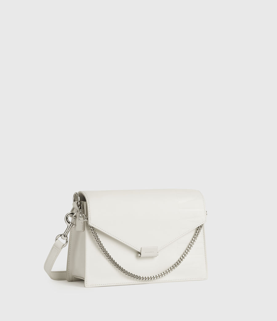 Women's Redchurch Leather Shoulder Bag (chalk_white) - Image 2