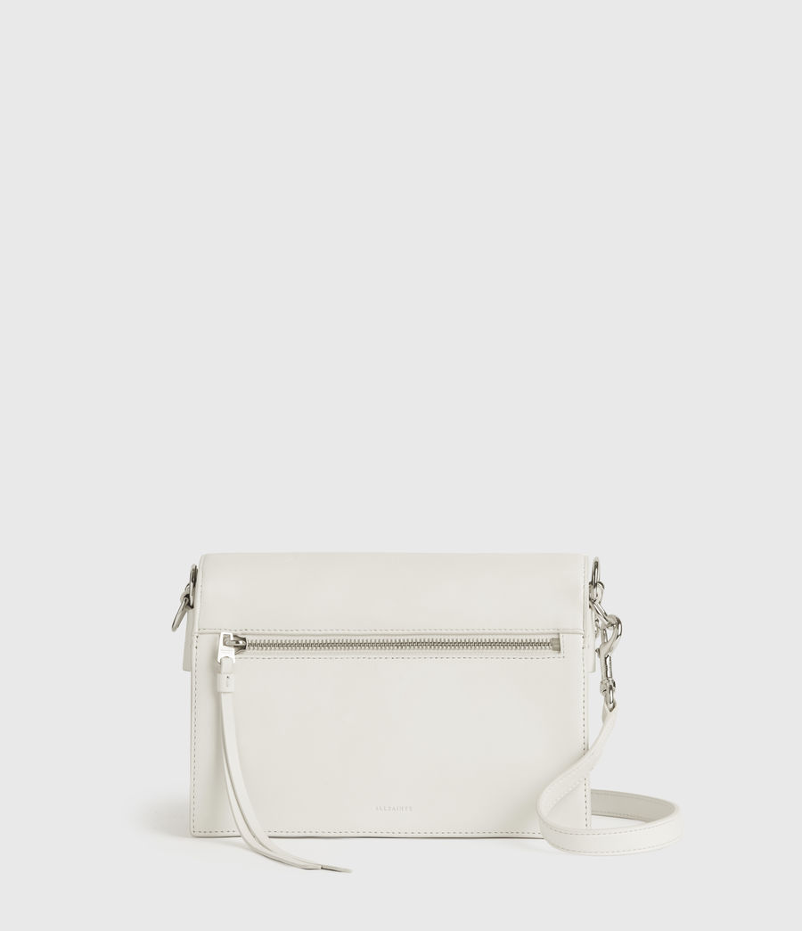 Women's Redchurch Leather Shoulder Bag (chalk_white) - Image 5