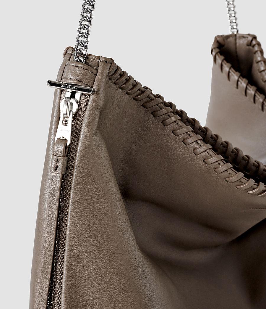 Women's Fleur De Lis Large Bag (cement) - Image 5